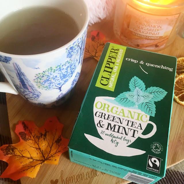 Clipper tea organic mint
