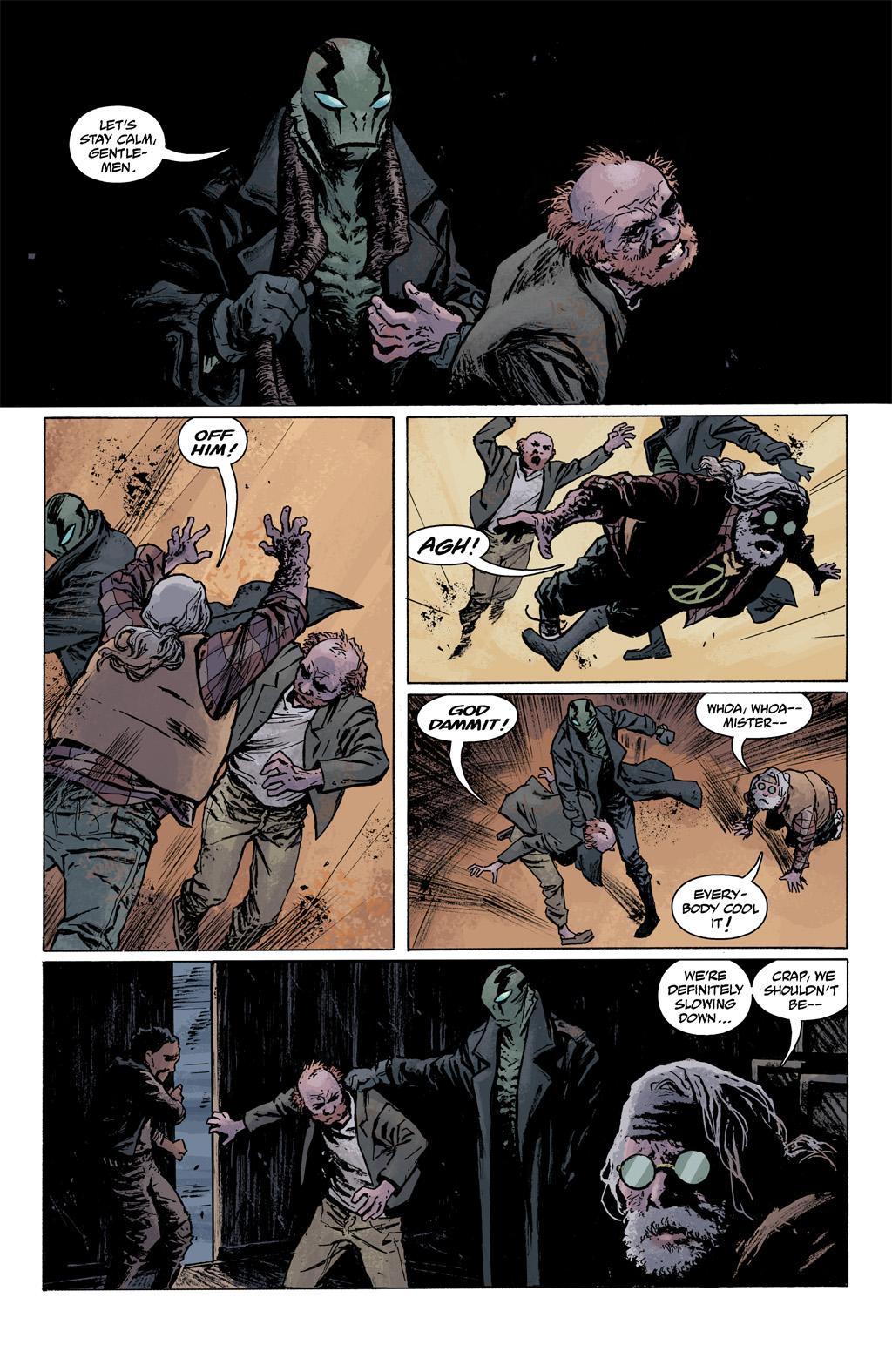 Read online Abe Sapien comic -  Issue #1 - 19