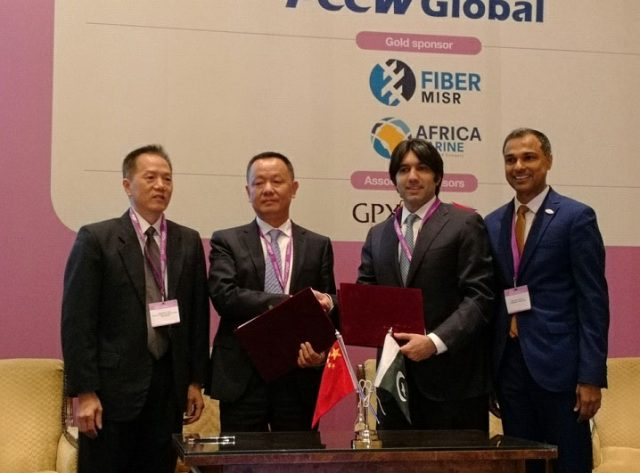 PEACE, Cybernet Pakistan sign agreement - Pakistan's internet capacity to be increased by 96 Tb / s