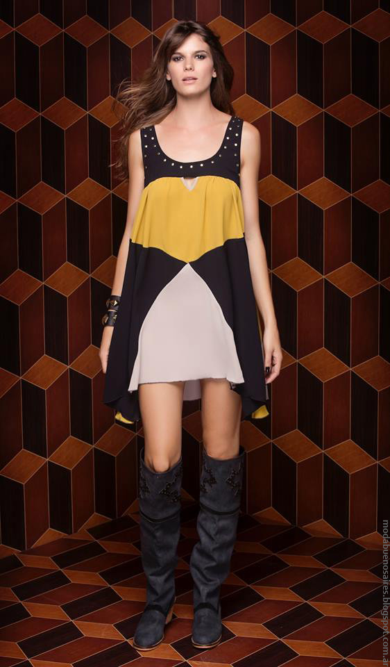 Moda invierno 2016 ropa de moda 2016 Silvina Ledesma.