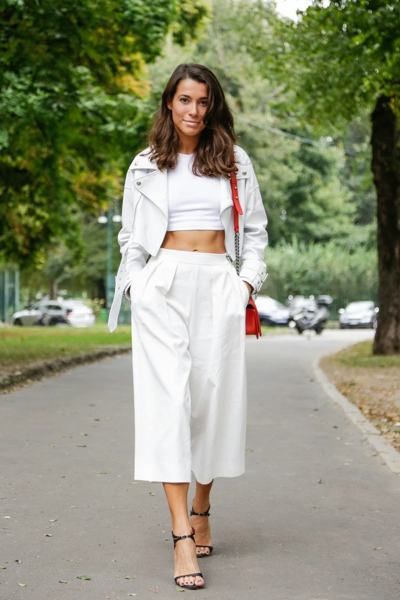 Eniwhere Fashion - Culottes - Crop top - Trend FW 2014-15