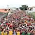 Multidão foi as ruas de Itupeva para 14° marcha para Jesus