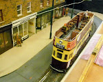 Simon Coles tram added to our display as it did a circular!!
