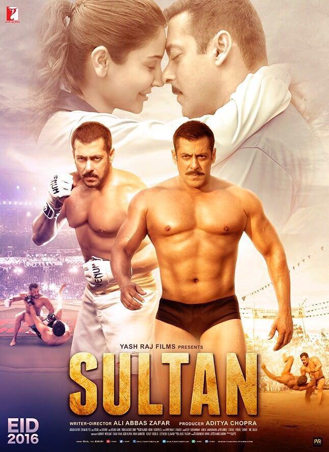 Sultan (2016) Hindi Movie 720P HD DVDRip Download 300MB