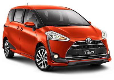 Inilah Daftar Harga Resmi Toyota Sienta OTR Jakarta
