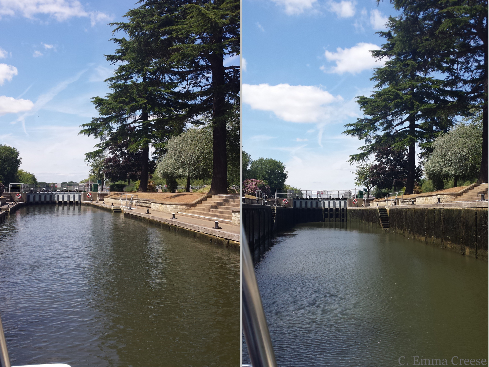 Canal boat Locks - Things to do in Runnymede: take a boat ride along the Thames River