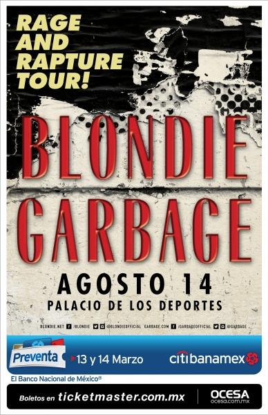 Blondie y Garbage en México