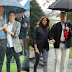 """A tale of two umbrellas"" - Vanity Fair magazine compares Prince Harry's umbrella etiquette to Donald's Trump's"