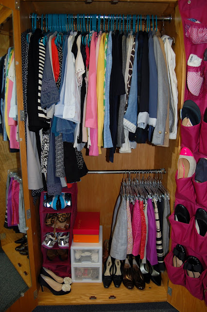 Dorm Room Closet: College Prep: In The Closet