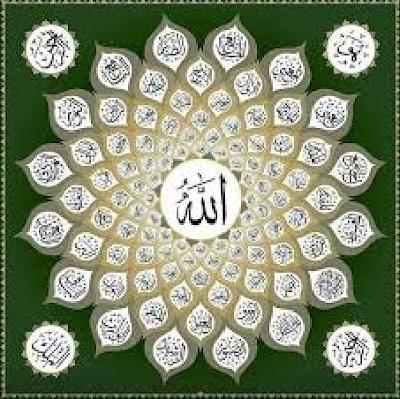 Asma Ul Husna 99 Names Of ALLAH Madrasa