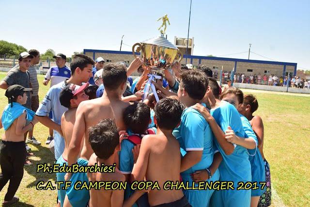La copa challenger fue para Tiro.