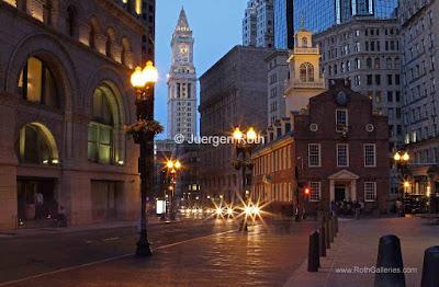 Boston landmark photography images
