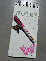 Notebook and Boofle Pen