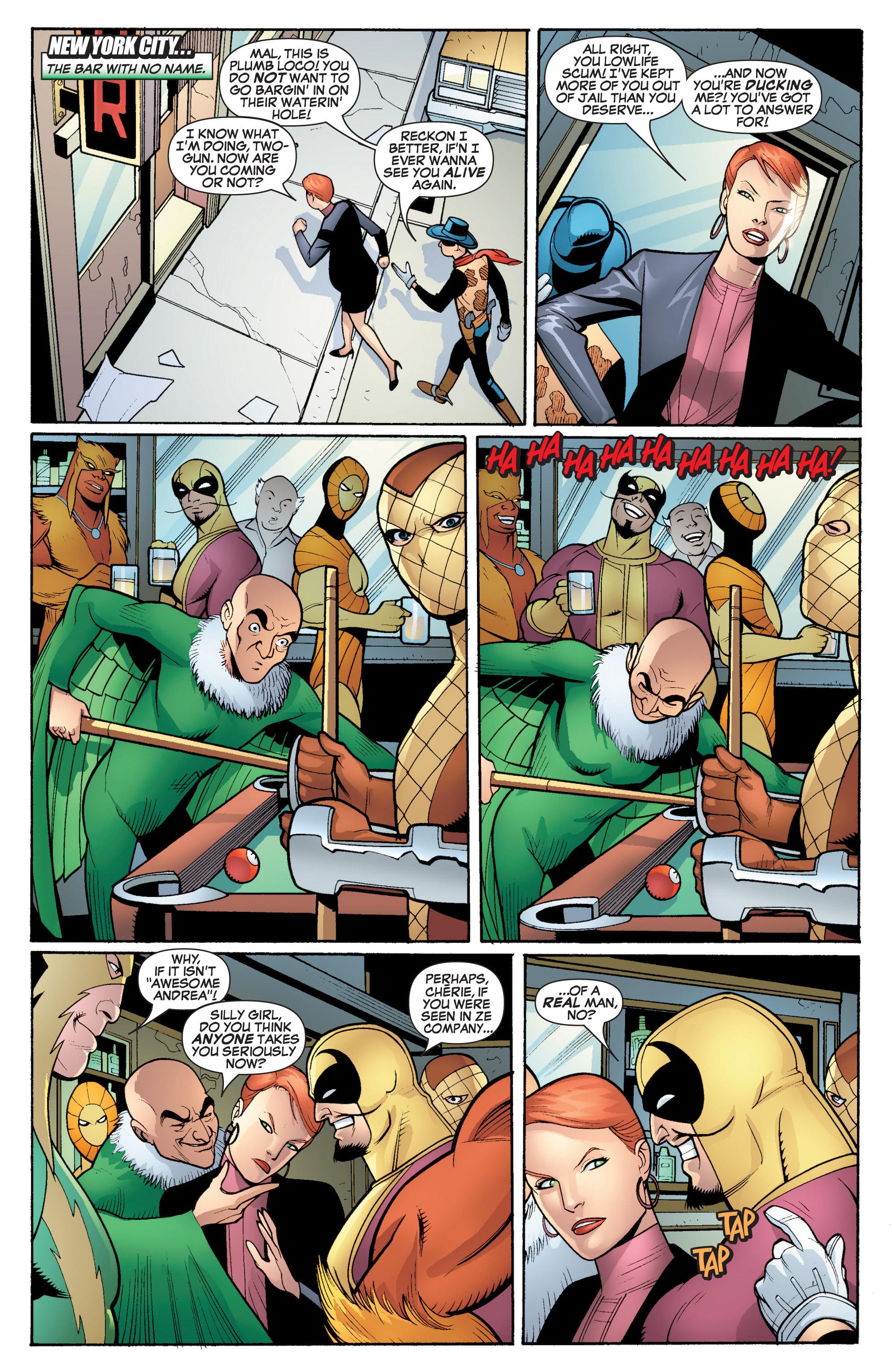 Read online She-Hulk (2005) comic -  Issue #17 - 16