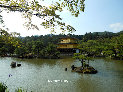 The Kinkaku-ji or the Golden pavillion of Kyoto in Japan