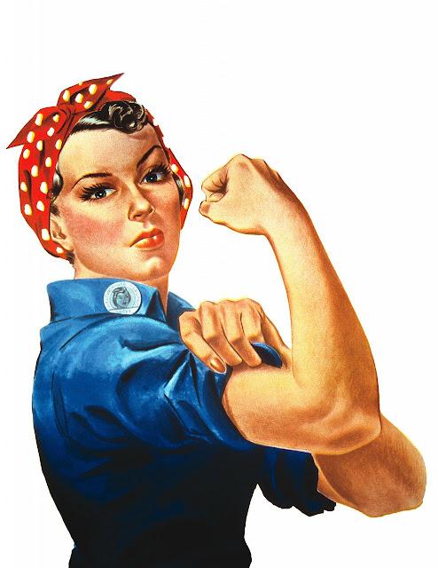 As Assustadoras Mulheres Independentes  - We Can Do It