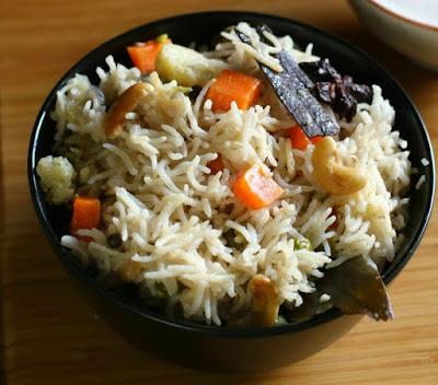 Gemüse-Reis-Gericht