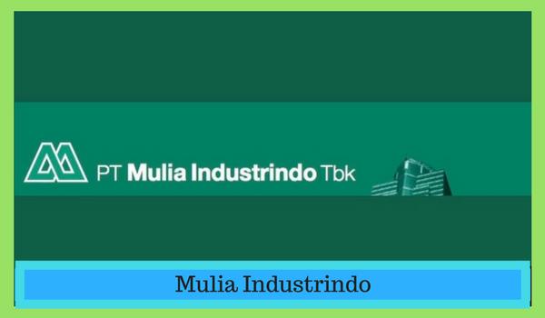 Lowongan Kerja PT Mulia Industrindo Tbk Cikarang 2018 ( Operator Produksi )