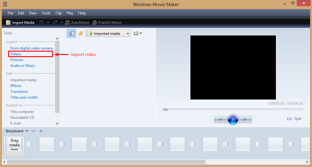 Cara Memotong Video Dengan Windows Movi Maker