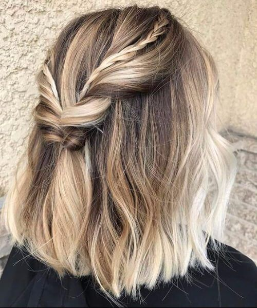 SIMPLE AND EASY MID-LENGTH HAIRSTYLE