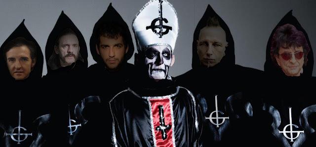 Resultado de imagen de ghost band sin mascaras