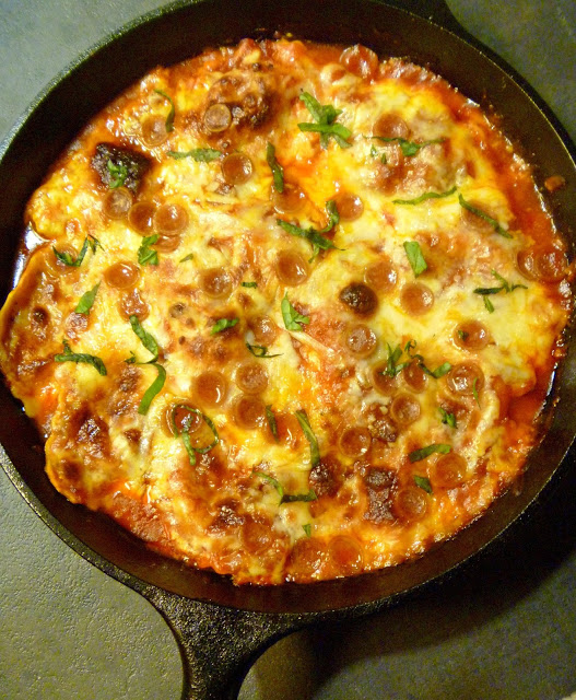 10 One Pot Meals that Dramatically Decrease the Heat in your Kitchen -One Pot Pizza Lovers Ravioli Bake -  Slice of Southern