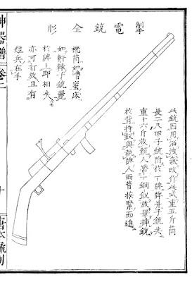 Ming Dynasty Breechloading Matchlock gun