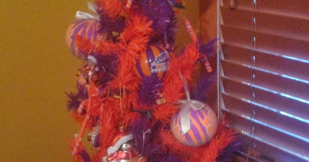 Clemson Girl: Clemson Christmas Trees