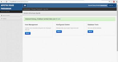 Source Code Sistem Informasi Apotik dengan CodeIgniter
