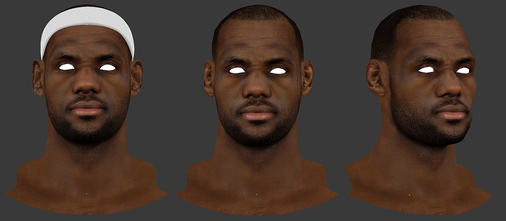 LeBron James 3D
