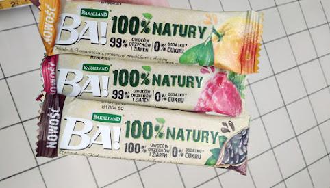 Baton owocowy - 100% natury, BA!