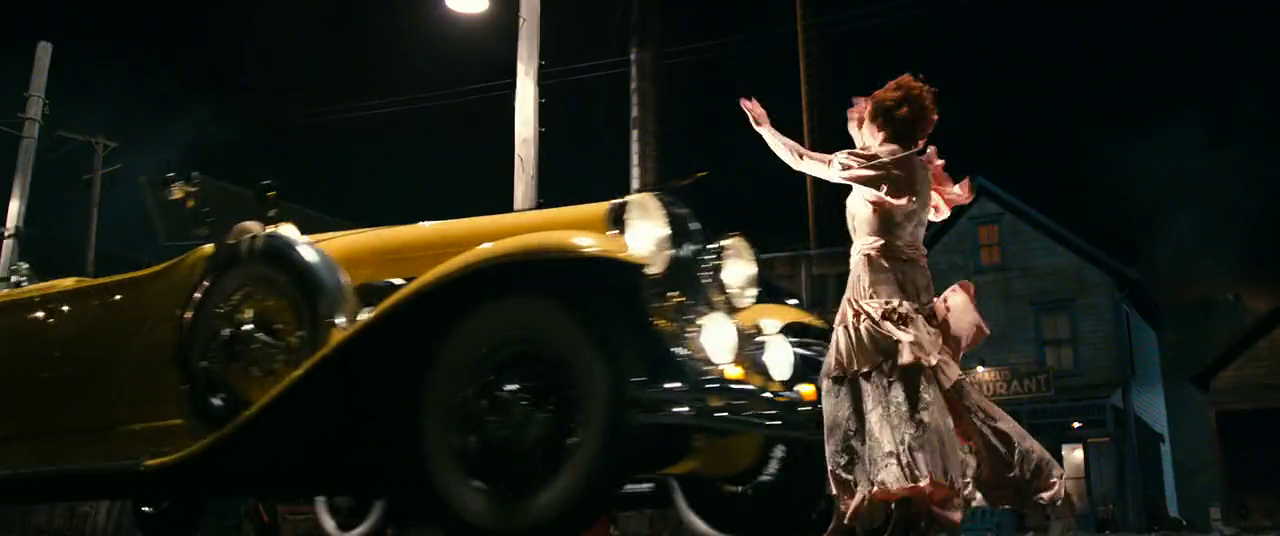 Myrtle Gets Hit By Car Great Gatsby