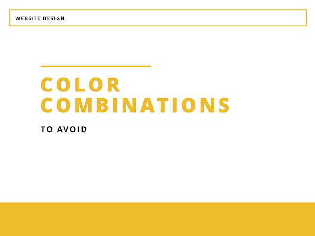 The Ugliest Website Color Output: 9 Color Combinаtions To AVOID