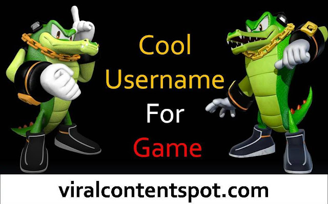Cool Username For Game