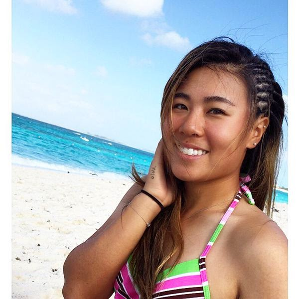 Image result for danielle kang bathing suit