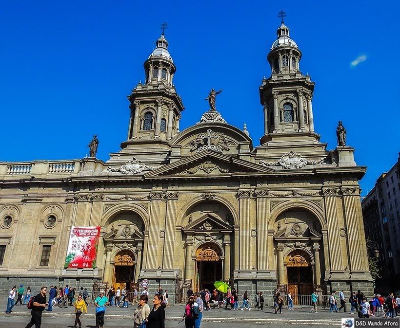 Catedral Metropolitana de Santiago - o que fazer em Santiago