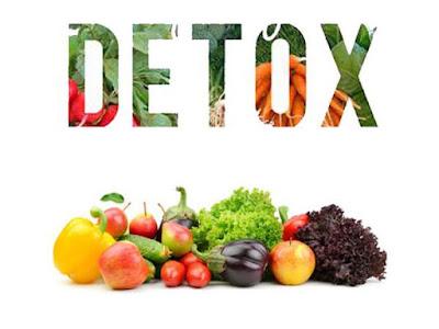 Makanan bagus untuk detoksifikasi - detoks