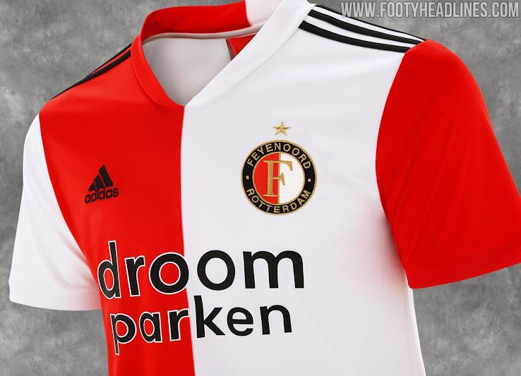 Feyenoord 20 21 Home Kit Released Footy Headlines