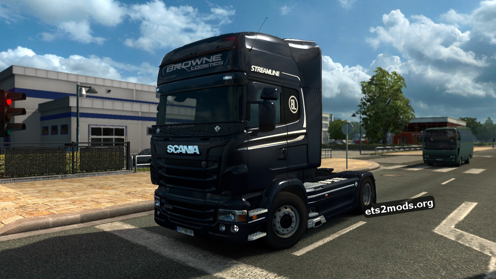 Browne Logistics Skin for Scania RJL