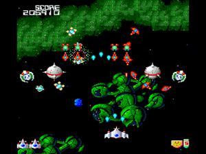 1CC Log for Shmups: Galaga '88 (PC Engine)