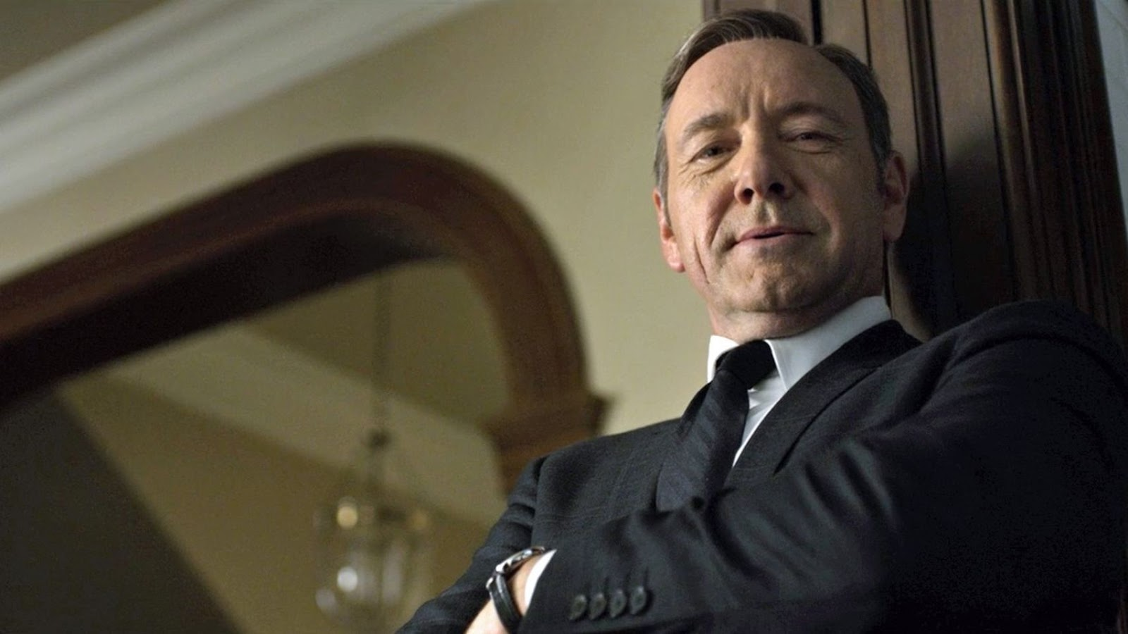 "Frank Underwood de ""House of cards"""