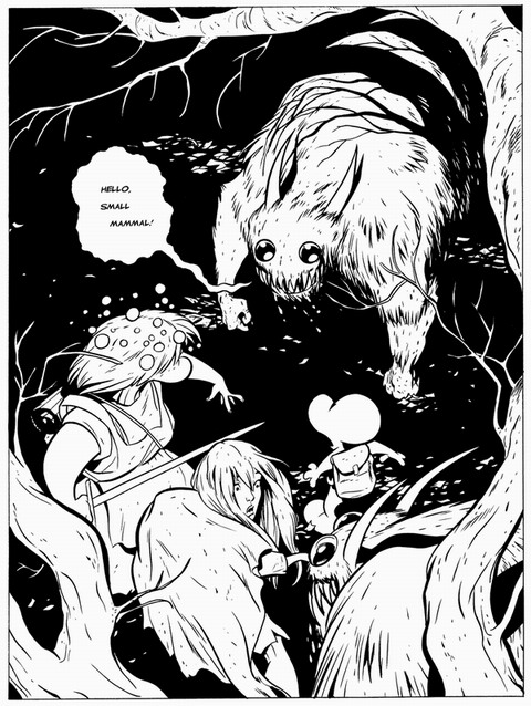 Rat creatures' attack in Bone 4: The Dragonslayer Download PDF