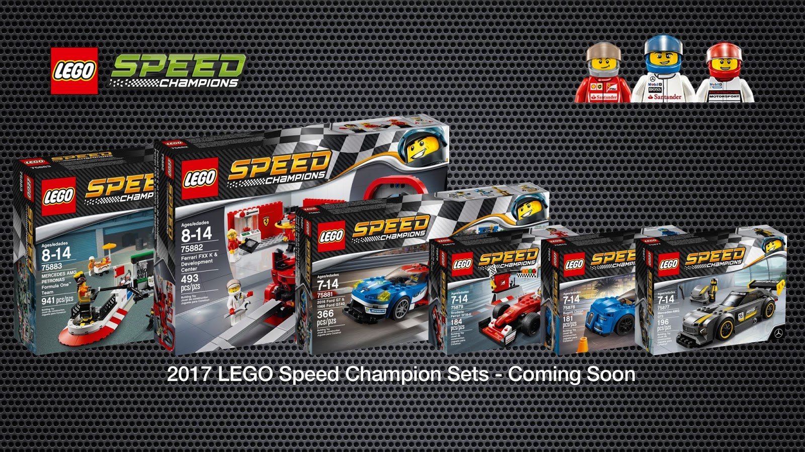 detoyz shop 2017 lego speed champion sets official images. Black Bedroom Furniture Sets. Home Design Ideas