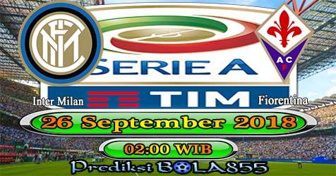 Prediksi Bola855 Inter Milan vs Fiorentina 26 September 2018