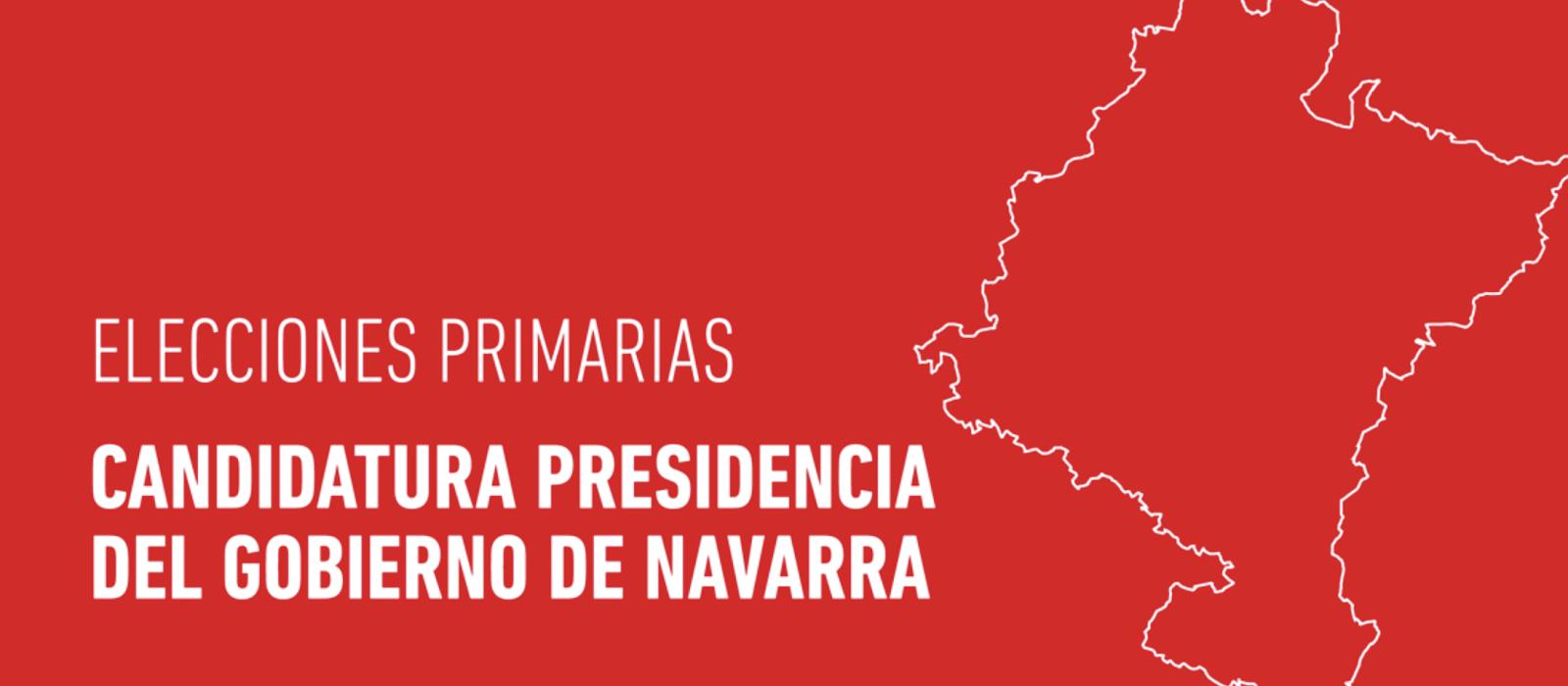 PRIMARIAS PRESIDENCIA DEL GOBIERNO DE NAVARRA
