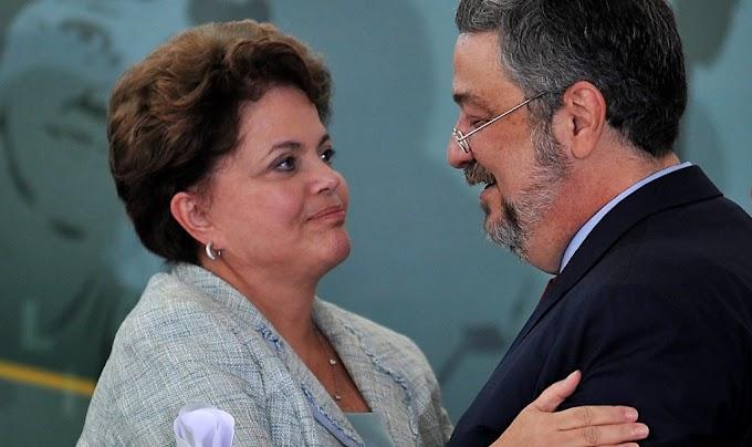 FOGO AMIGO: Nem Lula escapou do terrorismo da Dilma diz Palocci em delação