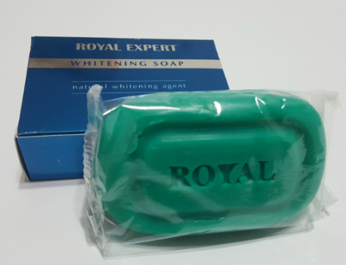 royal expert whitening soap