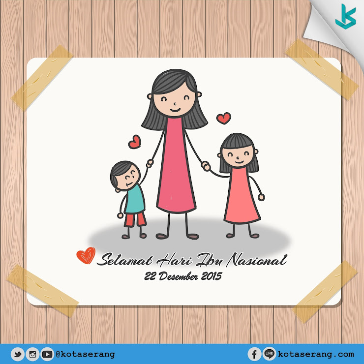 Gambar Vector - Hari Ibu Nasional 22 Desember 2015