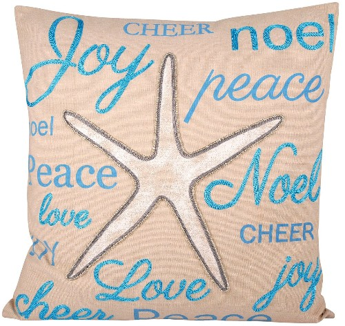 Starfish Joy Pillow