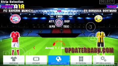 Screenshoot Mini Kits For Jogress V2 Terbaru For PPSSPP Emulator Android dan PC